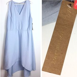 Baby Blue Hi - Low Hemline Sundress NEW Rachel Roy